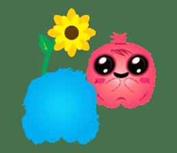 Monsta, the cute little monster sticker #986052