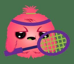 Monsta, the cute little monster sticker #986053