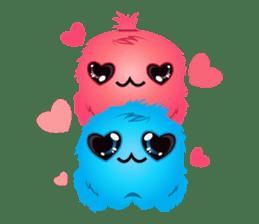 Monsta, the cute little monster sticker #986082