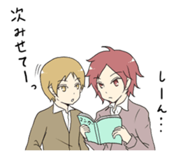 Japanese high school life sticker #986557