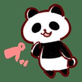 Stomach plonk animals sticker #989052