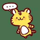 Stomach plonk animals sticker #989084