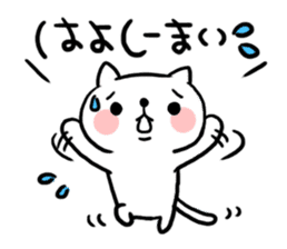 The cat of the Sanuki dialect sticker #992306
