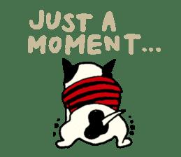 "MANGA ""French Bulldog in Japan."" sticker #992412"