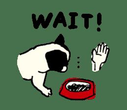 "MANGA ""French Bulldog in Japan."" sticker #992415"