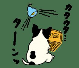 "MANGA ""French Bulldog in Japan."" sticker #992418"