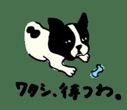 "MANGA ""French Bulldog in Japan."" sticker #992421"