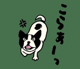 "MANGA ""French Bulldog in Japan."" sticker #992426"