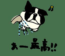 "MANGA ""French Bulldog in Japan."" sticker #992427"