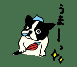 "MANGA ""French Bulldog in Japan."" sticker #992428"