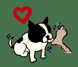 "MANGA ""French Bulldog in Japan."" sticker #992429"