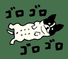 "MANGA ""French Bulldog in Japan."" sticker #992433"