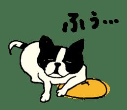 "MANGA ""French Bulldog in Japan."" sticker #992437"