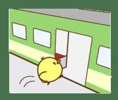 PIYO on the TRAIN sticker #992570