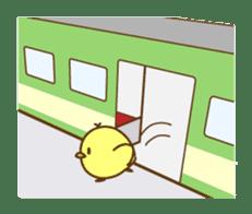 PIYO on the TRAIN sticker #992574