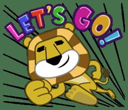 Amusing animal friends / Team Africa sticker #993141
