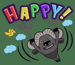 Amusing animal friends / Team Africa sticker #993153