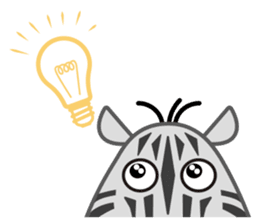 Amusing animal friends / Team Africa sticker #993165