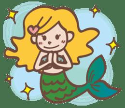 lovely mermaid sticker #993209