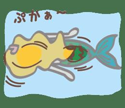 lovely mermaid sticker #993220