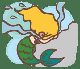 lovely mermaid sticker #993222