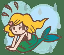 lovely mermaid sticker #993224