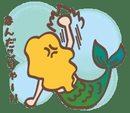 lovely mermaid sticker #993227