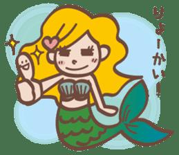 lovely mermaid sticker #993240