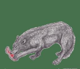 Wolf's song(1) sticker #993648
