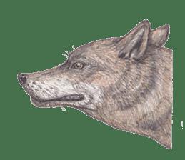 Wolf's song(1) sticker #993654