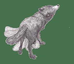 Wolf's song(1) sticker #993656
