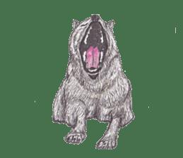 Wolf's song(1) sticker #993665