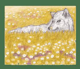 Wolf's song(1) sticker #993667