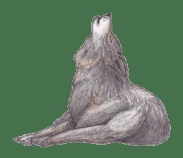 Wolf's song(1) sticker #993669