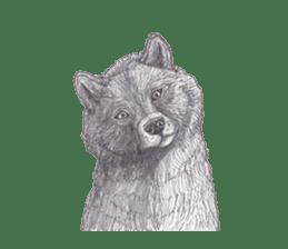 Wolf's song(1) sticker #993676