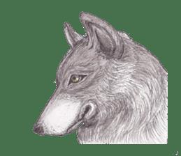 Wolf's song(1) sticker #993685