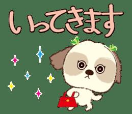 Shih Tzu Marlon daily life sticker sticker #993731