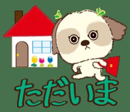 Shih Tzu Marlon daily life sticker sticker #993732