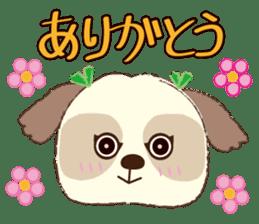 Shih Tzu Marlon daily life sticker sticker #993735