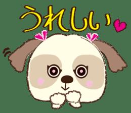Shih Tzu Marlon daily life sticker sticker #993737