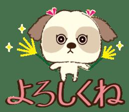 Shih Tzu Marlon daily life sticker sticker #993738