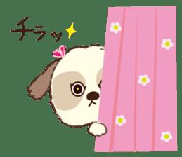 Shih Tzu Marlon daily life sticker sticker #993742