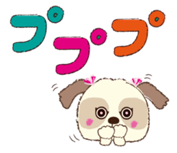 Shih Tzu Marlon daily life sticker sticker #993743