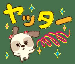 Shih Tzu Marlon daily life sticker sticker #993744