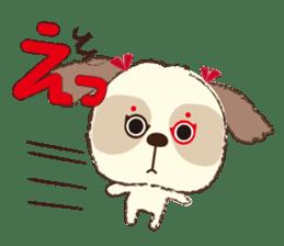 Shih Tzu Marlon daily life sticker sticker #993746