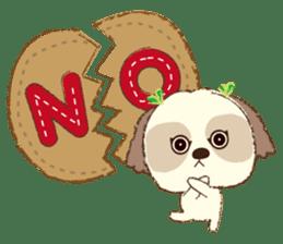 Shih Tzu Marlon daily life sticker sticker #993748