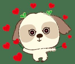 Shih Tzu Marlon daily life sticker sticker #993751