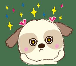 Shih Tzu Marlon daily life sticker sticker #993752