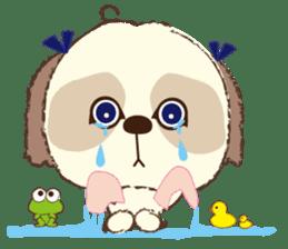 Shih Tzu Marlon daily life sticker sticker #993753