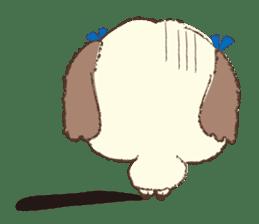 Shih Tzu Marlon daily life sticker sticker #993754